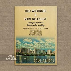 orlando florida wedding invitation printed nifty printables With wedding invitations orlando fl