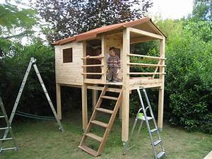 Comment Construire Une Cabane à écureuil : comment faire une cabane en palette jardin piscine et cabane ~ Melissatoandfro.com Idées de Décoration