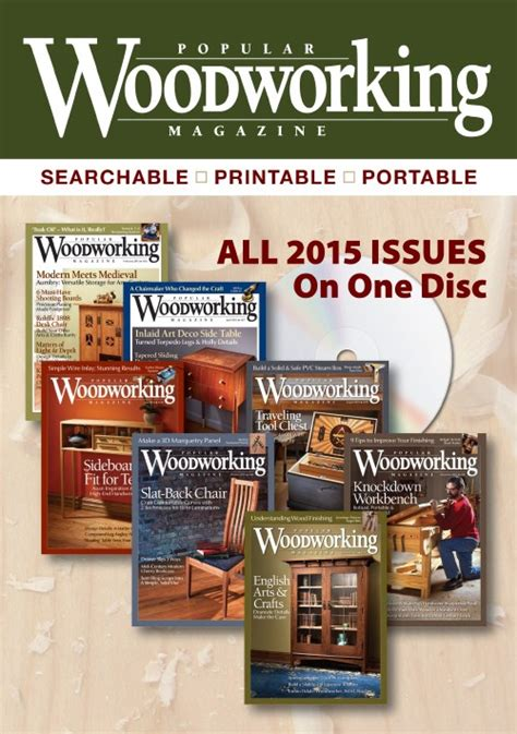 popular woodworking magazine  collection cd popular