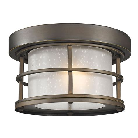 outdoor ceiling light z lite exterior additions rubbed bronze 10 inch one
