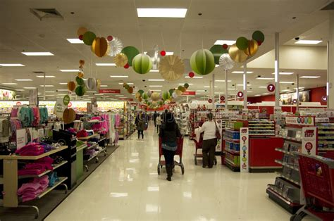 Target Superstore Holiday Decoration Christmas Shopping