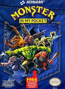 Monster In My Pocket Game Giant Bomb