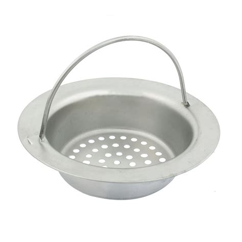 mesh basket design floor sink drainer strainer w handle 3