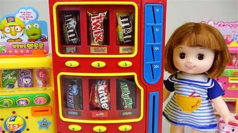 Candy Dispenser And Baby Doll Toys Play