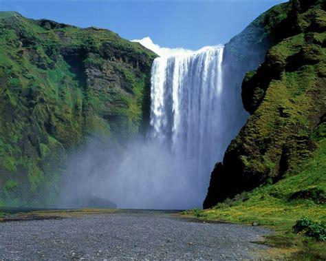 beautiful waterfall landscapes computer wallpaper desktop background