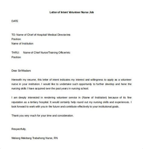 letter of interest for a sle of letter of interest for a position letter of