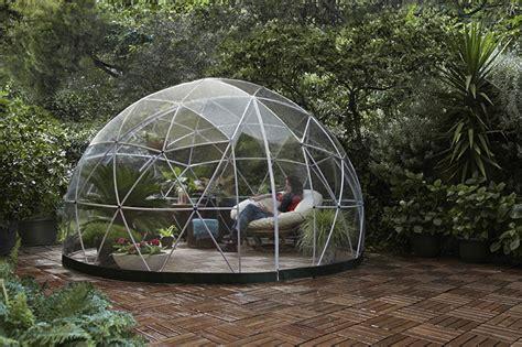 garten iglu glas garden igloo designs ideas on dornob