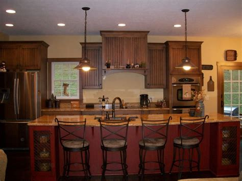 country kitchen lighting ideas imposing primitive country kitchen islands with undermount