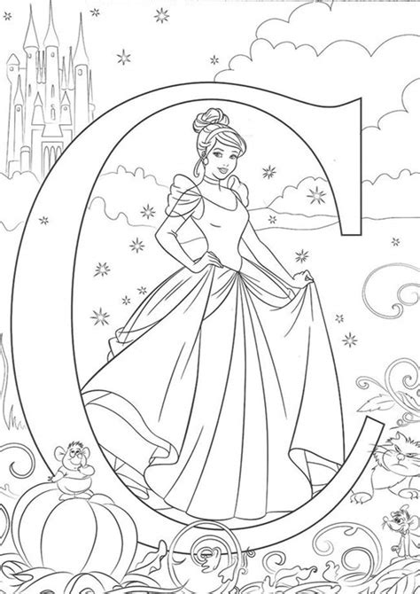 easy  print cinderella coloring pages tulamama