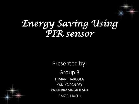 automatic room light control upon human presence energy saving using pir sensor
