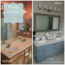 Bathroom Vanity Paint Ideas Pretty Distressed Happy 1st Birthday
