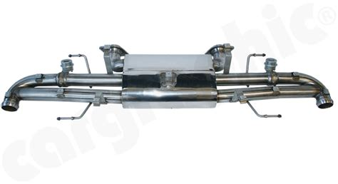 cargraphic exhaust system  aston martin rapide