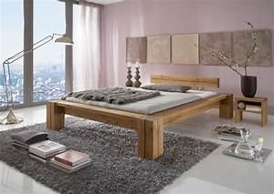 Günstige Betten 180x200 : g nstige m bel online bestellen neu im sortiment balkenbett davos kiefer massiv gebeizt und ~ Indierocktalk.com Haus und Dekorationen