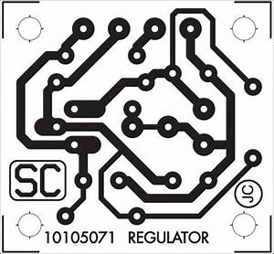 how to build adjustable 13 22v regulated power supply With pcb circuit project