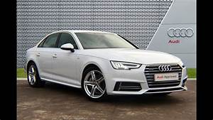 RK17VOA - AUDI A4 SALOON WHITE SLOUGH AUDI 2017 - YouTube
