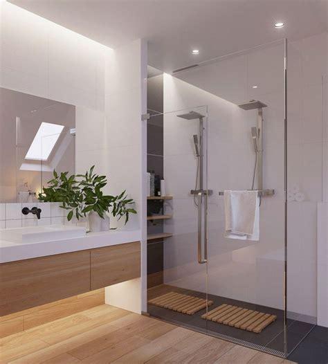 Moderne Badezimmer Mit Trennwand by Skandinavisch Einrichten Eine Wohnung In Minsk Mit
