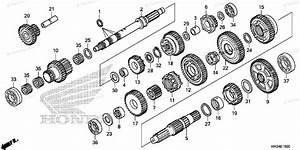 Honda Atv 2014 Oem Parts Diagram For Transmission 1
