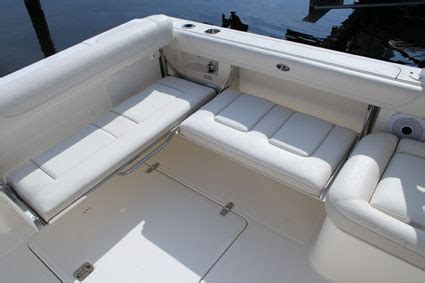 Boat Side Bench Seat by Pursuit Dc 265 Florida Sportsman