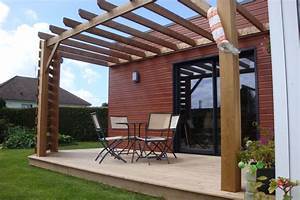 Idee De Pergola En Bois : extensions bois offranville 76550 djsl bois ~ Melissatoandfro.com Idées de Décoration