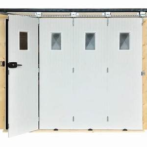 porte de garage pvc 2000x2400mm coulissante blanc avec With porte de garage pvc blanc