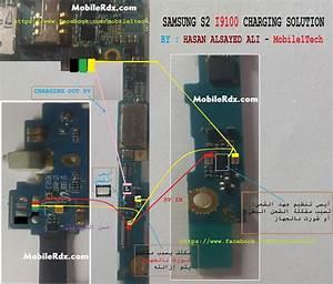 Samsung Galaxy S2 I9100 Charging Ways Solution Usb Jumper