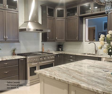 gray cabinets    white kitchen island omega
