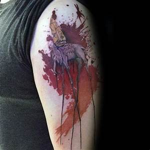 50 Salvador Dali Elephant Tattoo Designs For Men ...