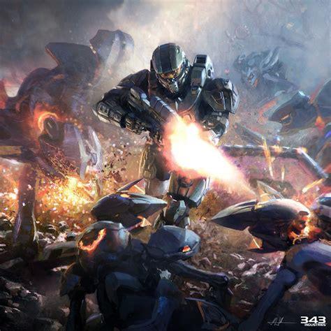 Halo 4 Concept Art By John Wallin Liberto Concept Art World