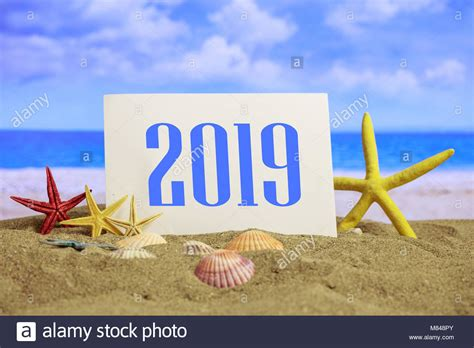 New Year 2019 Celebration On The Beach, Summer Christmas