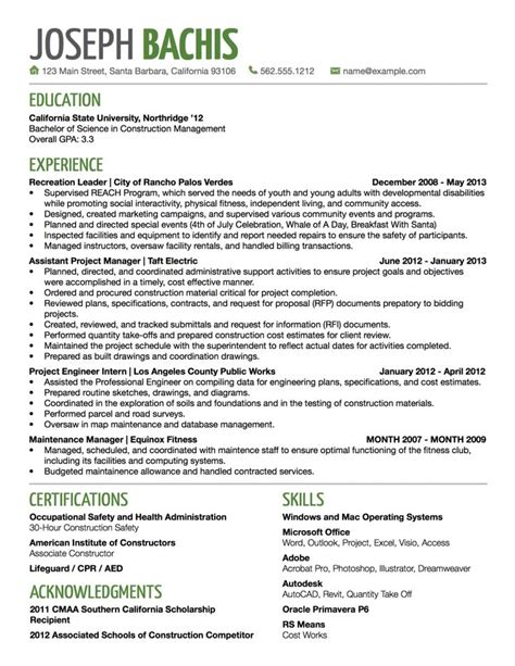 Resume Title Exles For by Why You Shouldn T Be Creative With Your Title In