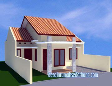 desain rumah sederhana minimalis type  luas tanah