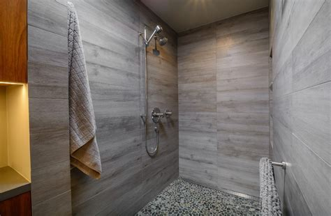los angeles quartz shower walls bathroom modern