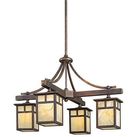 kichler lighting 49091cv alameda arts and crafts mission