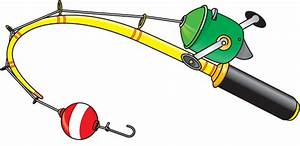 Fishing Pole With Fish Clipart | Clipart Panda - Free ...