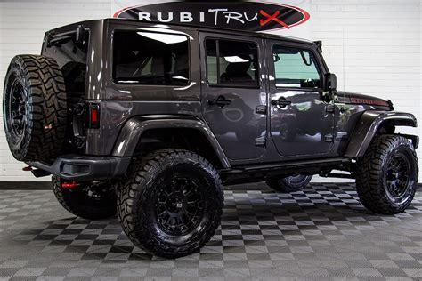 jeep wrangler rubicon recon unlimited granite