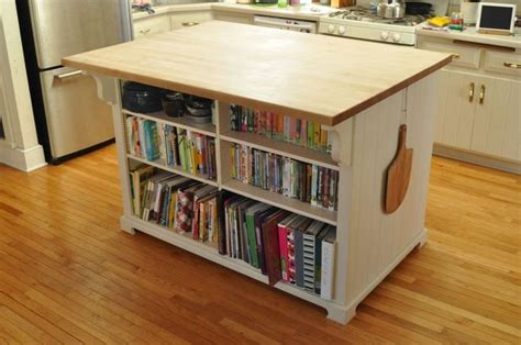kitchen island with bookshelf kitchen island 8 steps with pictures 5201