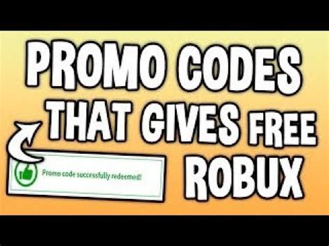 robux  promo codes working