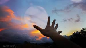 Hand, Happy, Women, Outdoors, Sunset, Sun, Set, Red, Sky, Alone, Sunset, Sarsaparilla, Sunset