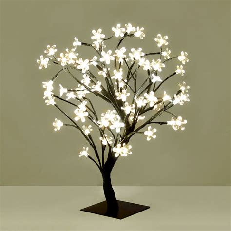 Trees With Led Lights by Modern Warm White Led Bonsai Tree With 72 Led Twig