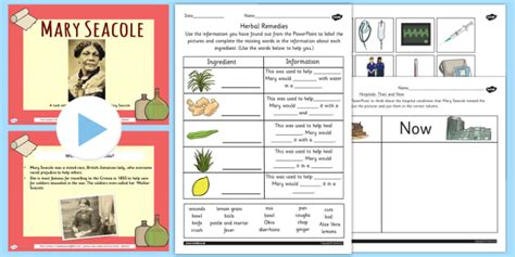 seacole significant individual lesson teaching pack