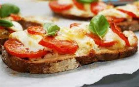 la cuisine simplissime recette bruschetta tomate mozza facile économique et