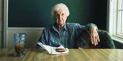 Hunger Eating Person Older Call Let Lets