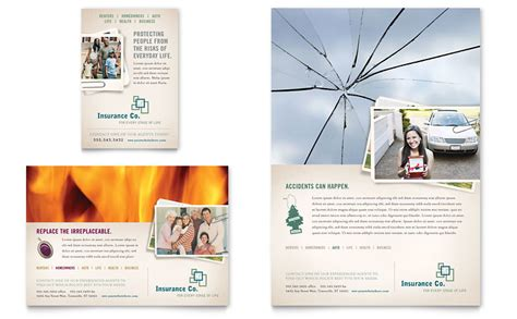 life insurance company flyer ad template word publisher