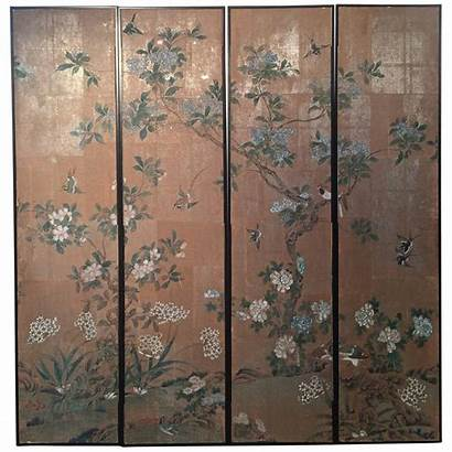 Chinoiserie Panels Framed Gracie Wall Chinese 1stdibs