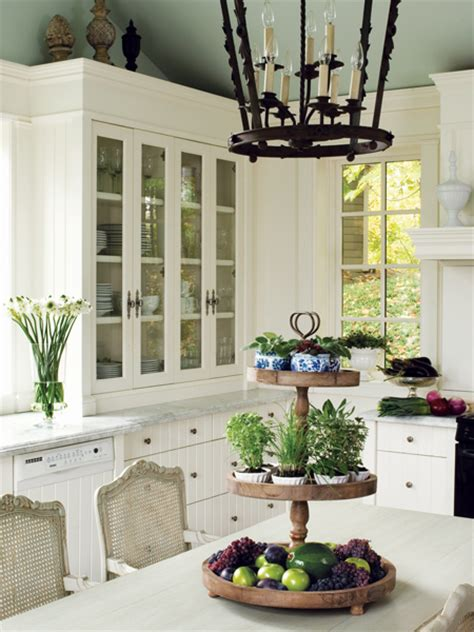 Country Kitchen Decorating Ideas - photos 30 styles de cuisine maison et demeure