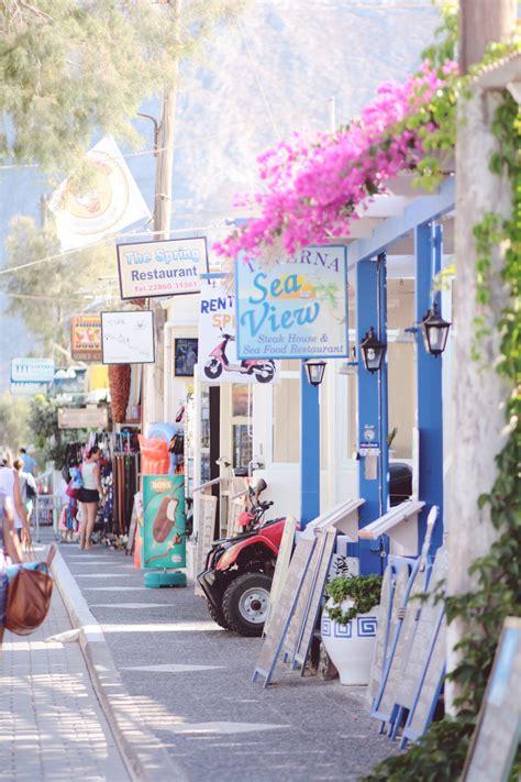 Kamari Santorini Its All Greek To Me Greece Travel