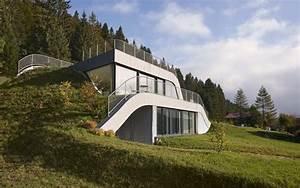 Maison Semi Enterrée : maison contemporaine semi enterr e avec rooftop naturel ~ Voncanada.com Idées de Décoration