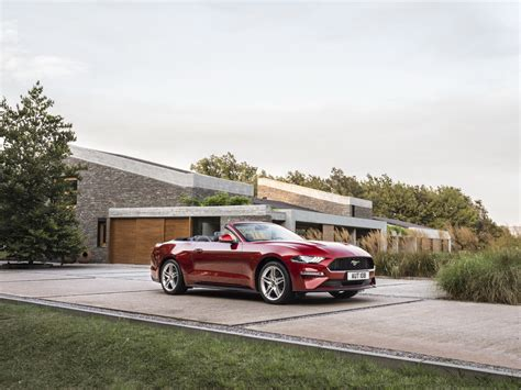 Europes 2018 Ford Mustang Comes With More V8 Power But