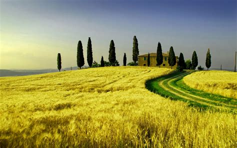 italian landscape pictures travel trip journey tuscany italy