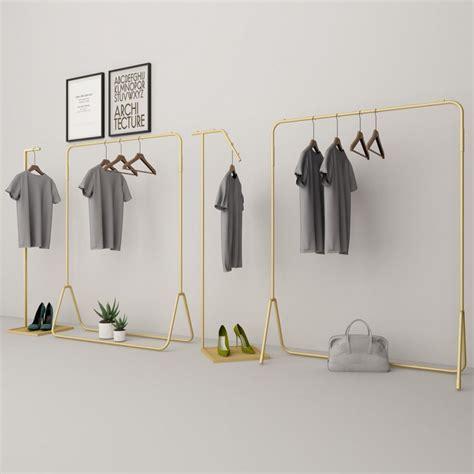 clothes display rack clothing store en  decoracion